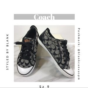 Coach Barrett Sneakers + Original Box